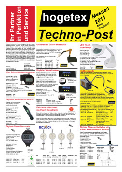 Techno-Post Messen 2011 Supplement